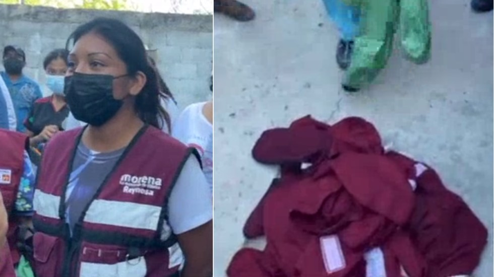 #Video Presuntas operadoras de Morena en Reynosa se suman a campaña del PAN - Morena Reynosa mujeres PAN