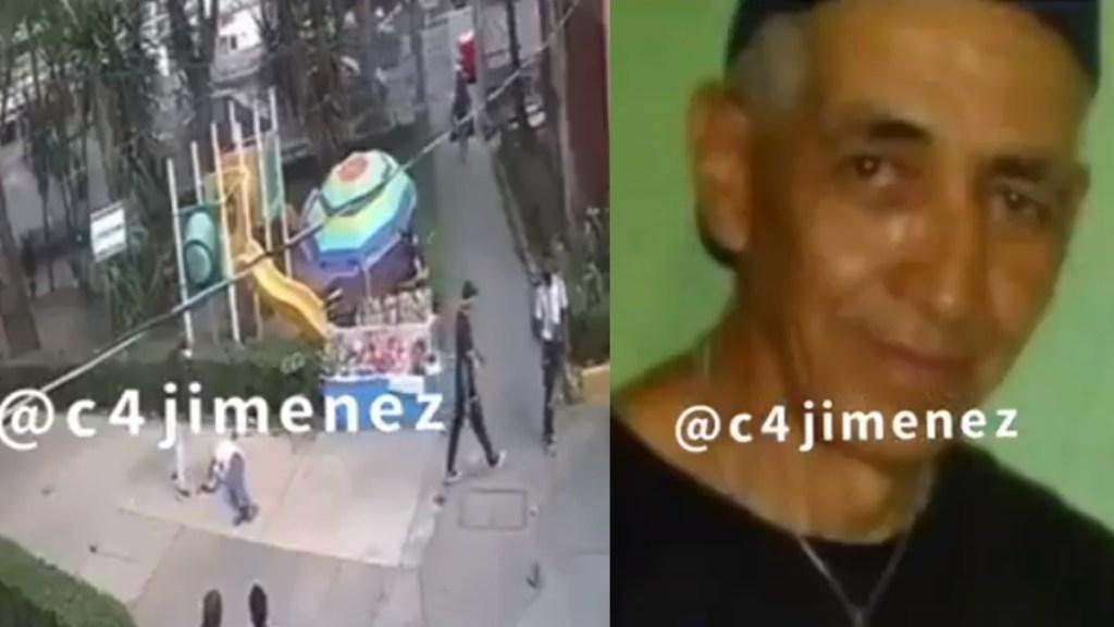 #Video Sujeto apuñala a joven en la Narvarte; víctima se encuentra grave - Narvarte ataque expresidiario cuchillo