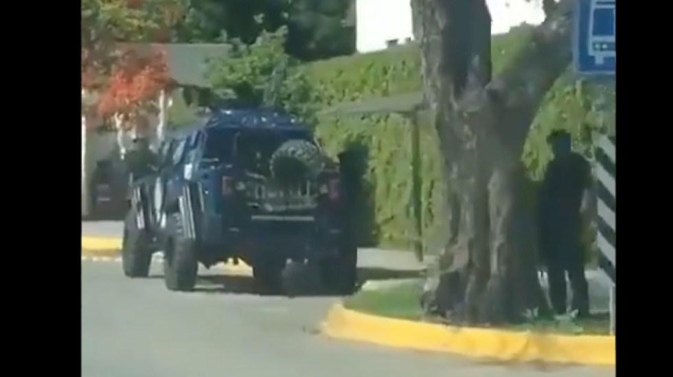 #Video Refuerzan seguridad en Casa de Gobierno de Tamaulipas - #Video Refuerzan seguridad en Casa de Gobierno de Tamaulipas. Foto tomada de video