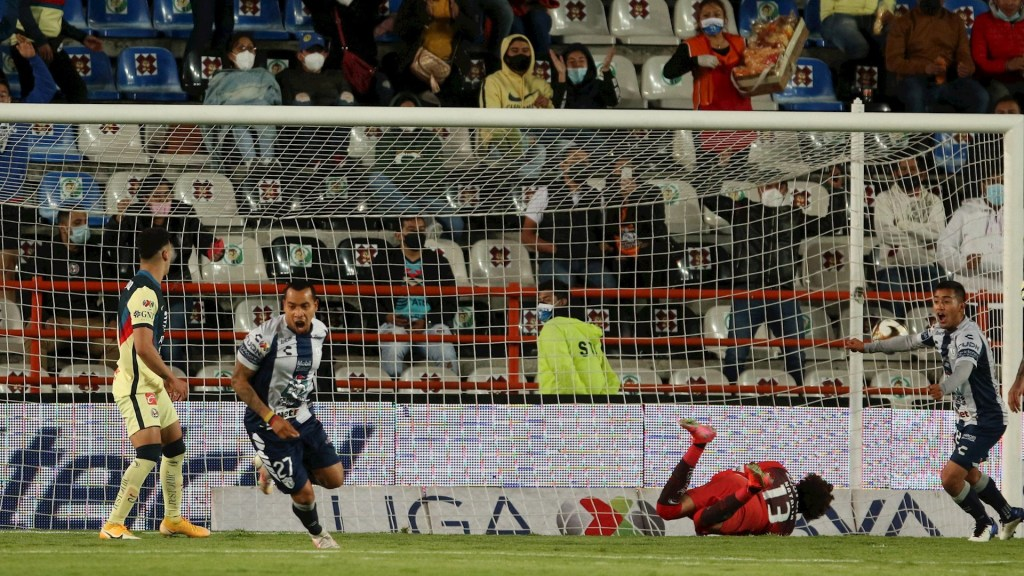 Pachuca derrota 3-1 al América en el Azteca en la ida de octavos - Pachuca partido américa Liga MX