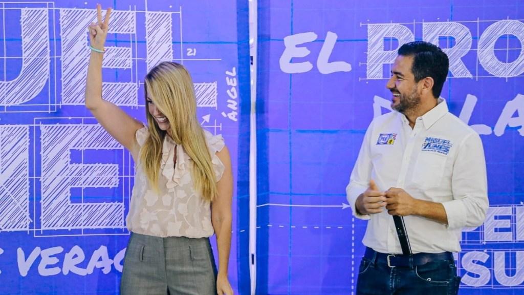 Esposa de Miguel Ángel Yunes Márquez será candidata a alcaldía de Veracruz - Patricia Lobeira Miguel Ángel Yunes Márquez