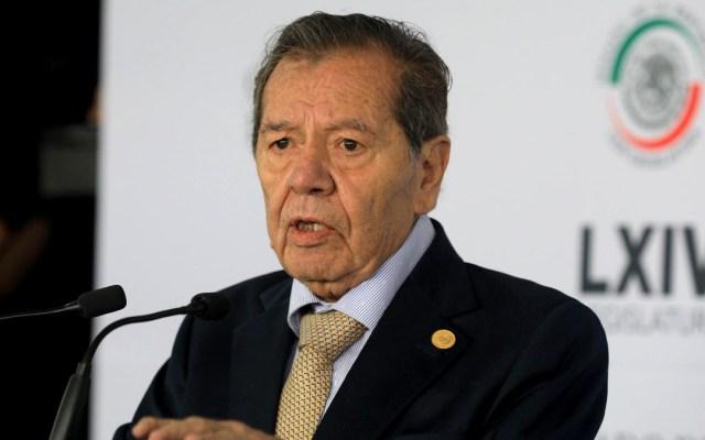 Llama Muñoz Ledo al Poder Legislativo a no obedecer a AMLO - Porfirio Muñoz Ledo diputado