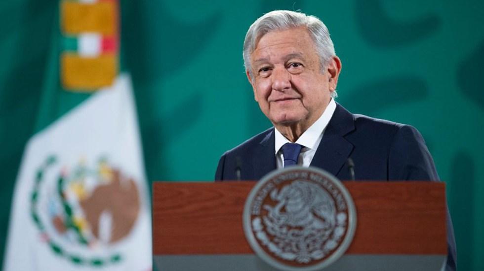 Artículo 19 acusa a López Obrador de 'distorsión' tras queja con Estados Unidos - Presidente López Obrador en conferencia matutina. Foto de Gobierno de México