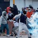 Las protestas en Colombia cumplen un mes teñidas por la violencia - Foto de EFE