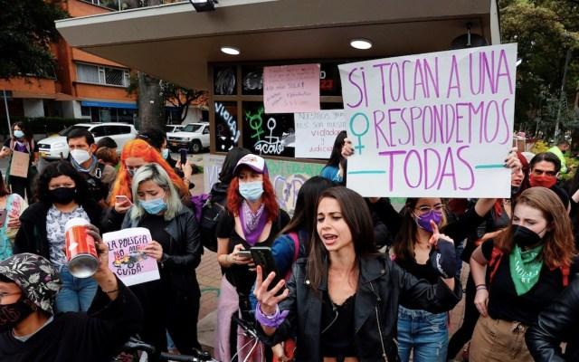 Protestas en Colombia ahora exigen fin a violencia sexual - Protestas en Colombia. Foto de EFE