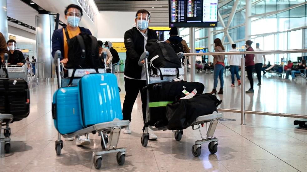 Reino Unido rebaja el nivel de alerta por coronavirus - Reino Unido coronavirus COVID19 viajeros viajes