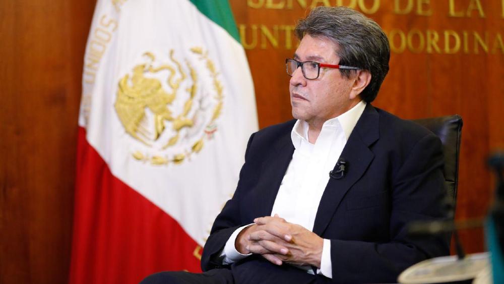 Monreal reconoce que hay dificultad para aprobar iniciativas de AMLO - Ricardo Monreal Ávila