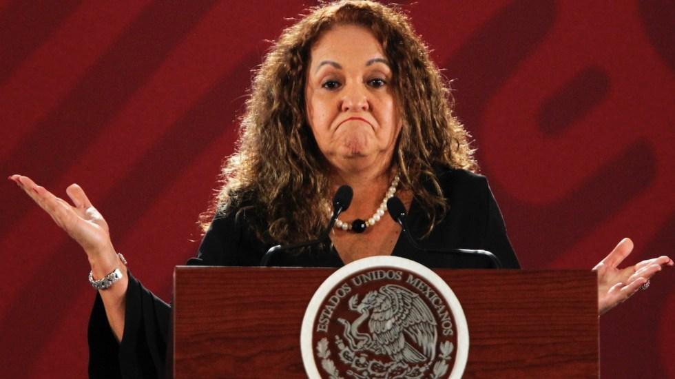 CNDH pide proteger a Sanjuana Martínez, directora de Notimex - Sanjuana Martínez. Foto de EFE