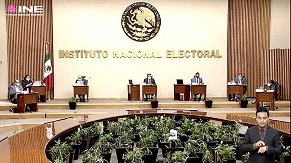 Denuncia INE falta de respuesta de instituciones financieras ante requerimientos en materia de fiscalización - Sesión del Consejo General del INE