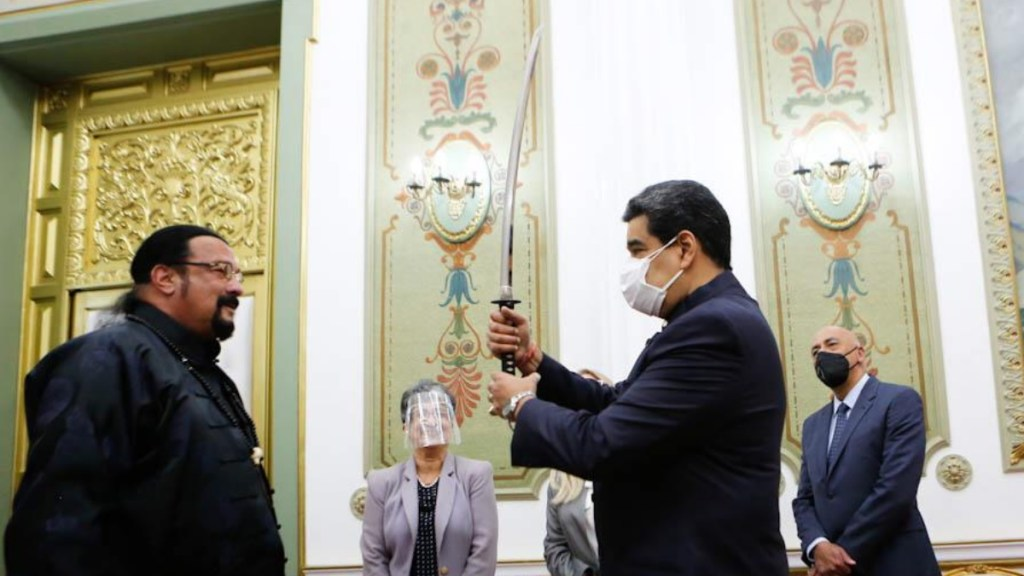 Steven Seagal Nicolás Maduro Venezuela 2
