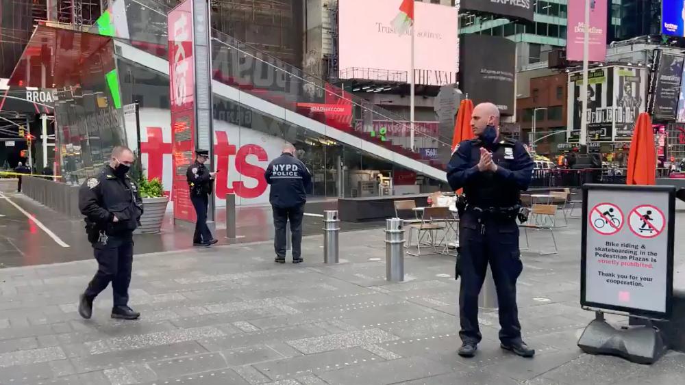 Dos mujeres y un niño heridos tras tiroteo en Times Square, Nueva York - Tiroteo Times Square Nueva York NY