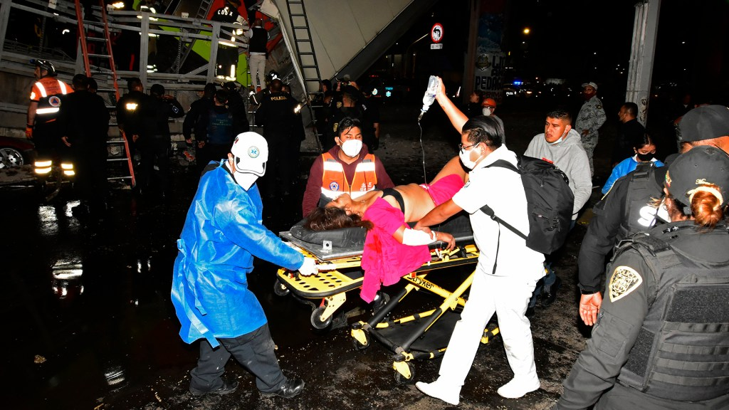 Denuncian falta de insumos para atender a heridos del accidente del Metro - Metro Línea 12 colapso CDMX