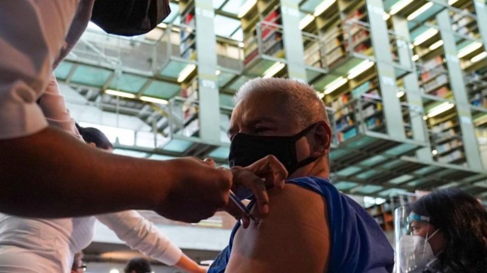 Concluye vacunación contra COVID-19 de personal educativo en 30 estados - Iniciará vacunación de personal educativo en la Ciudad de México. Foto de Twitter Claudia Sheinbaum