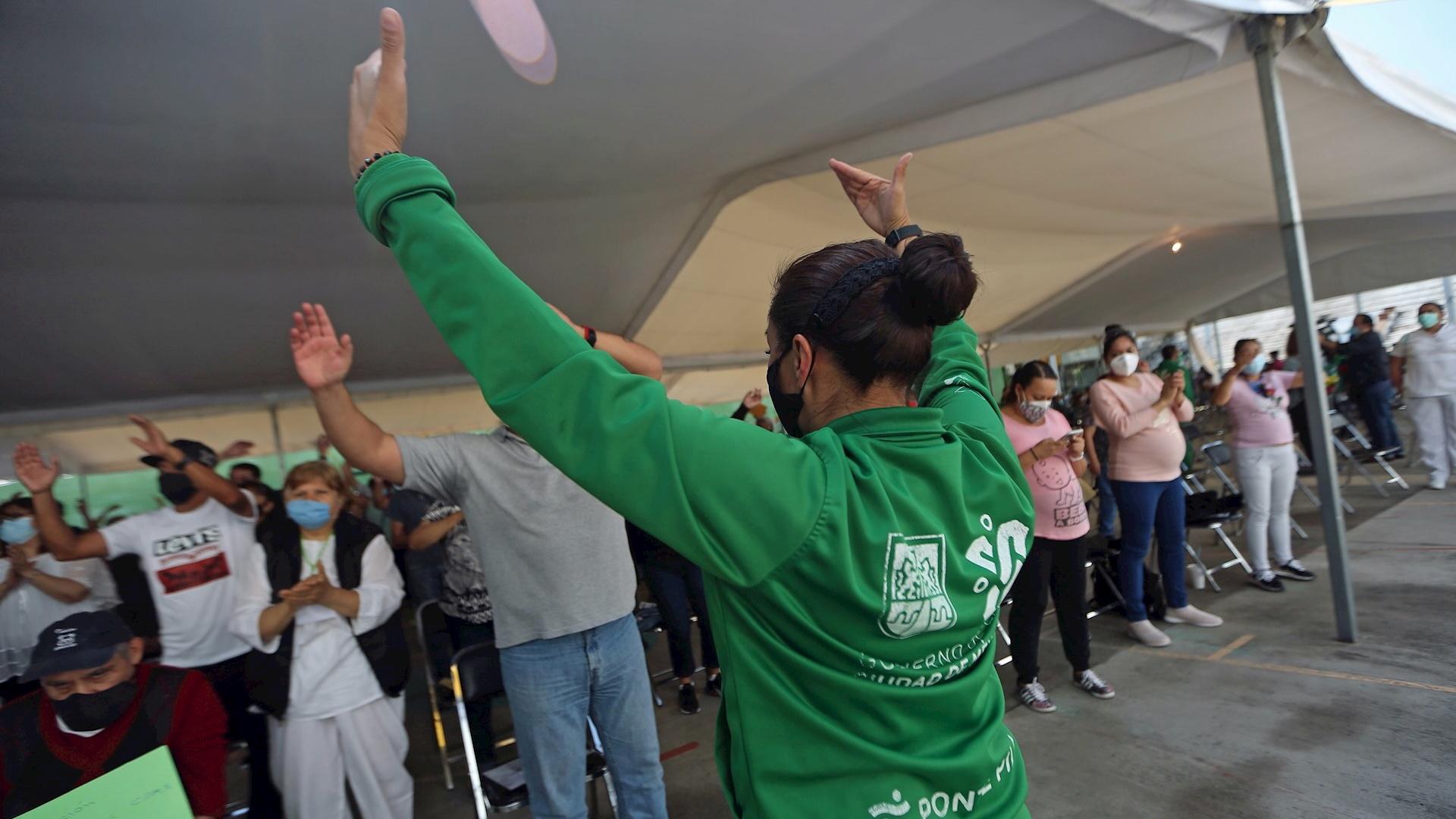 Vacunación COVID-19 Ciudad de México coronavirus Roma