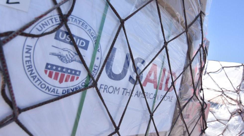 Detienen en EE.UU. a acusado de robar 192 respiradores donados a El Salvador - Ventiladores médicos donados por EE.UU. a El Salvador. Foto de @embajadaamericanaelsalvador