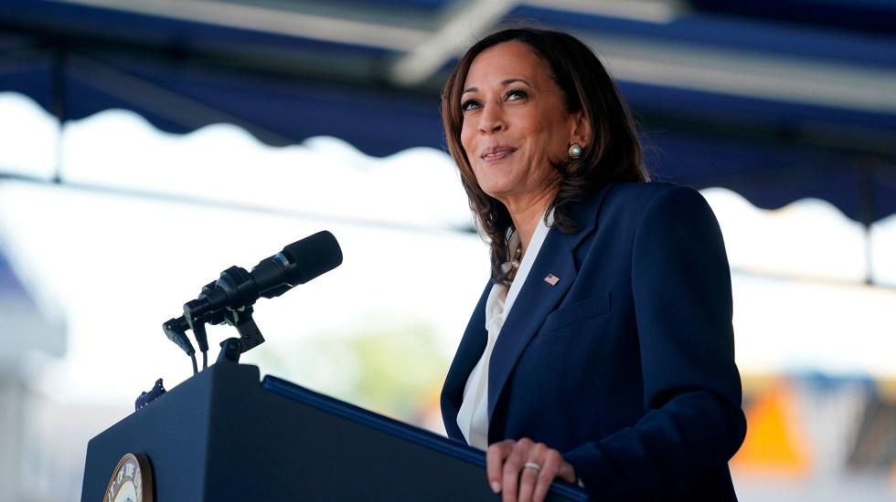 Invita Senado a reunión a la vicepresidenta Kamala Harris de EE.UU. - Vicepresidenta Kamala Harris de EE.UU. Foto de EFE