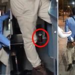 #Video Sorprenden a operador del Metro con latas de cerveza en cabina