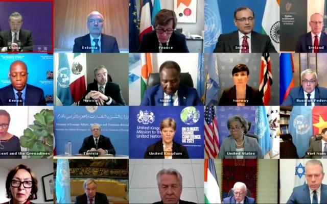 Sesión del Consejo de Seguridad de la ONU sobre Medio Oriente