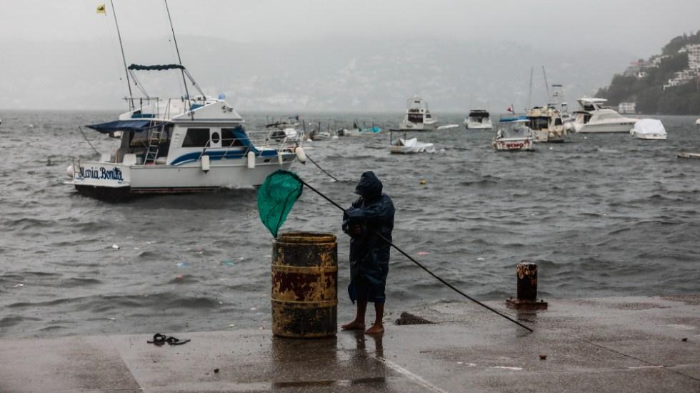 Dos personas muertas en Guerrero tras paso del huracán Enrique - Acapulco Guerrero ciclón Enrique