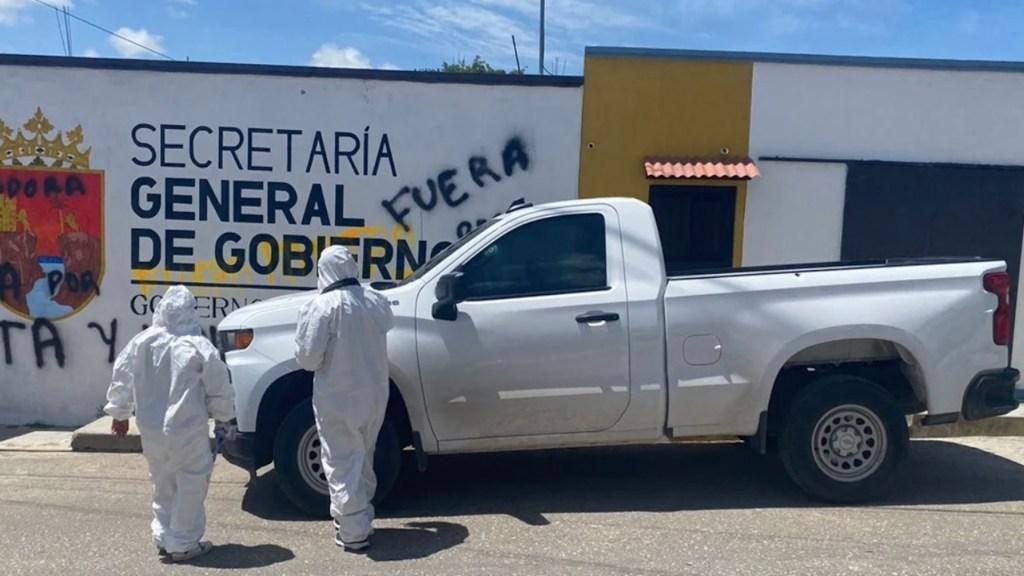 Atacan a balazos a delegada de Gobierno de Chiapas - Atacan a balazos a delegada de Gobierno de Chiapas. Foto de Fiscalía Chiapas
