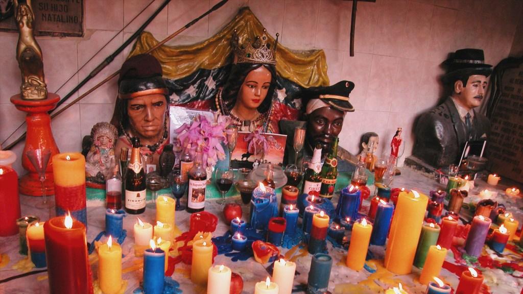 María Lionza - Altar Mayor de María Lionza. Foto de WikiCommons.