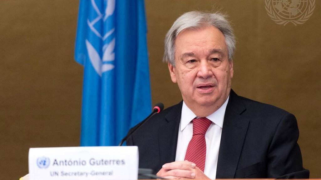 Reeligen a António Guterres como secretario general de la ONU - António Guterres. Foto de ONU