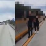 #Video Asaltan a a familia sobre carretera en Nuevo León