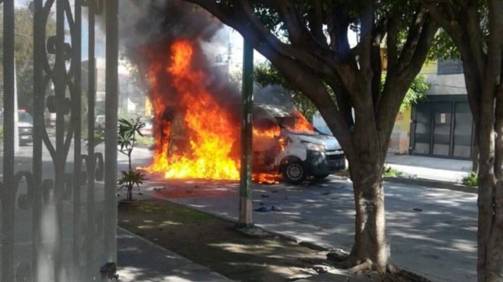 Intento de asalto a camioneta de valores deja al menos 5 lesionados en Guadalajara, Jalisco - Asalto Plaza Forum Tlaquepaque Jalisco