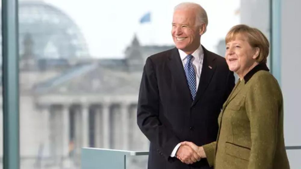 Biden tendrá una cumbre con Merkel en la Casa Blanca el próximo 15 de julio - Biden Merkel Alemania EEUU (1)