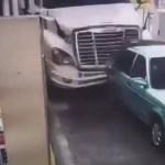 #Video Así ocurrió el accidente en la caseta de Jalostotitlán