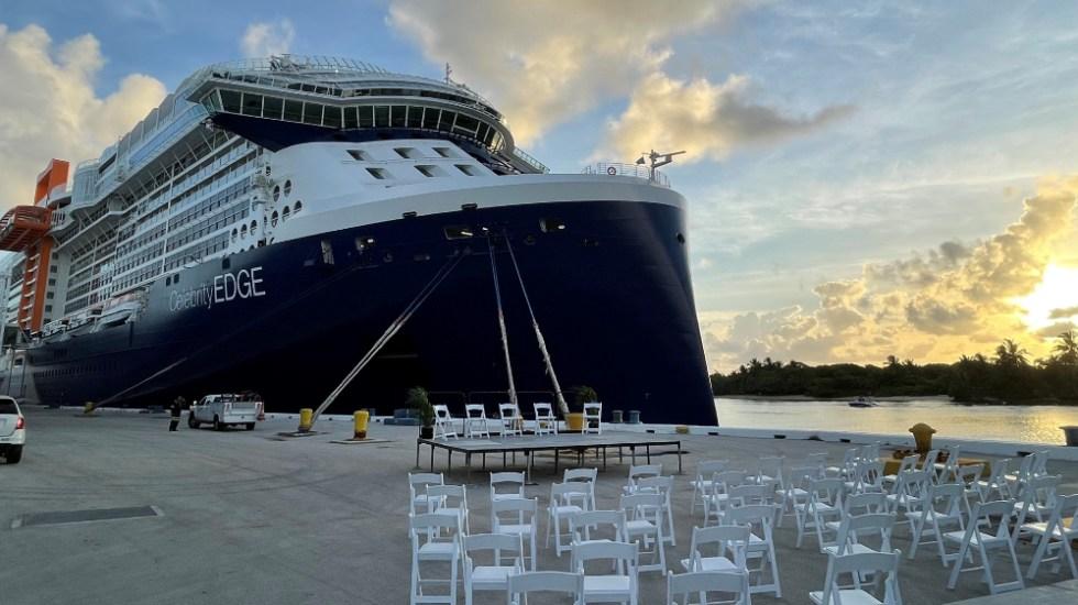 """Primer crucero con pasajeros desde EE.UU. marca """"nuevo amanecer"""" del sector - Celebrity Edge crucero"""
