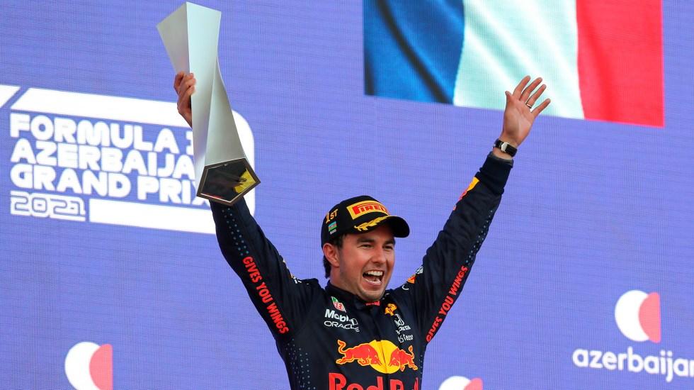 Reflejos del Gran Premio de Azerbaiyán 2021, 'Checo' Pérez, el ganador - El mexicano Sergio 'Checo' Pérez ganó el GP de Azerbaiyán. Se dijo muy feliz porque