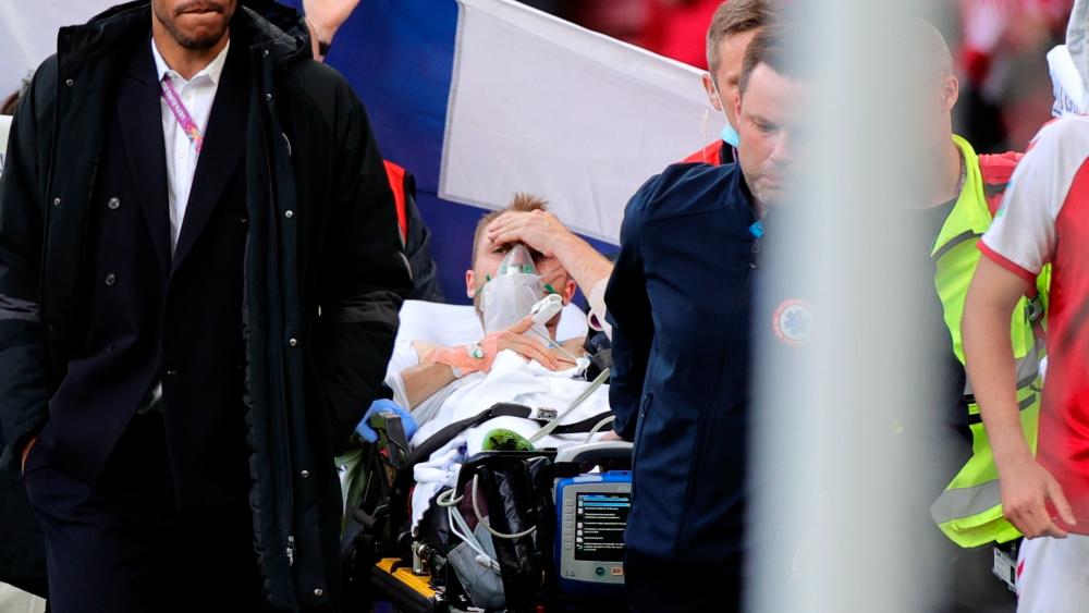 Eriksen seguirá en el hospital hasta conocerse causa de su desvanecimiento - Christian Eriksen Dinamarca