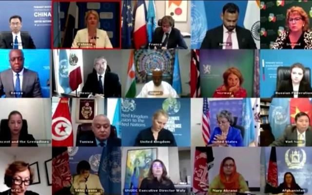México pide ante Consejo de Seguridad de la ONU preservar avances logrados en Afganistán - Consejo de Seguridad de la ONU habla sobre Afganistán. Foto de @MexOnu