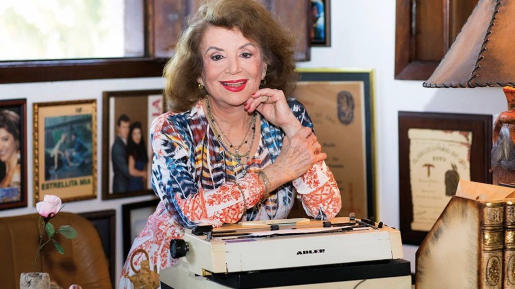 Muere a los 96 años Delia Fiallo, escritora de telenovelas - Muere a los 96 años Delia Fiallo, escritora de telenovelas. Foto de Venevisión