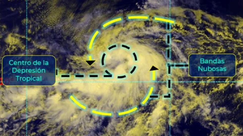 Depresión tropical se forma cerca de Baja California Sur - depresión tropical Tres E