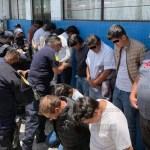 Detienen a 15 sujetos por agresiones en casilla electoral de Metepec