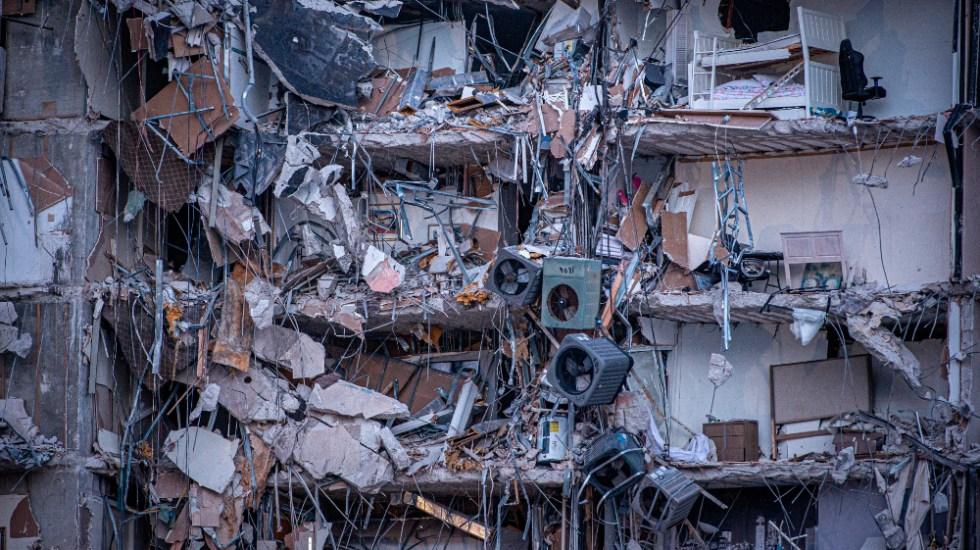 Aumenta a 95 cifra de muertos por derrumbe en edificio de Miami - edificio Miami Surfside derrumbe