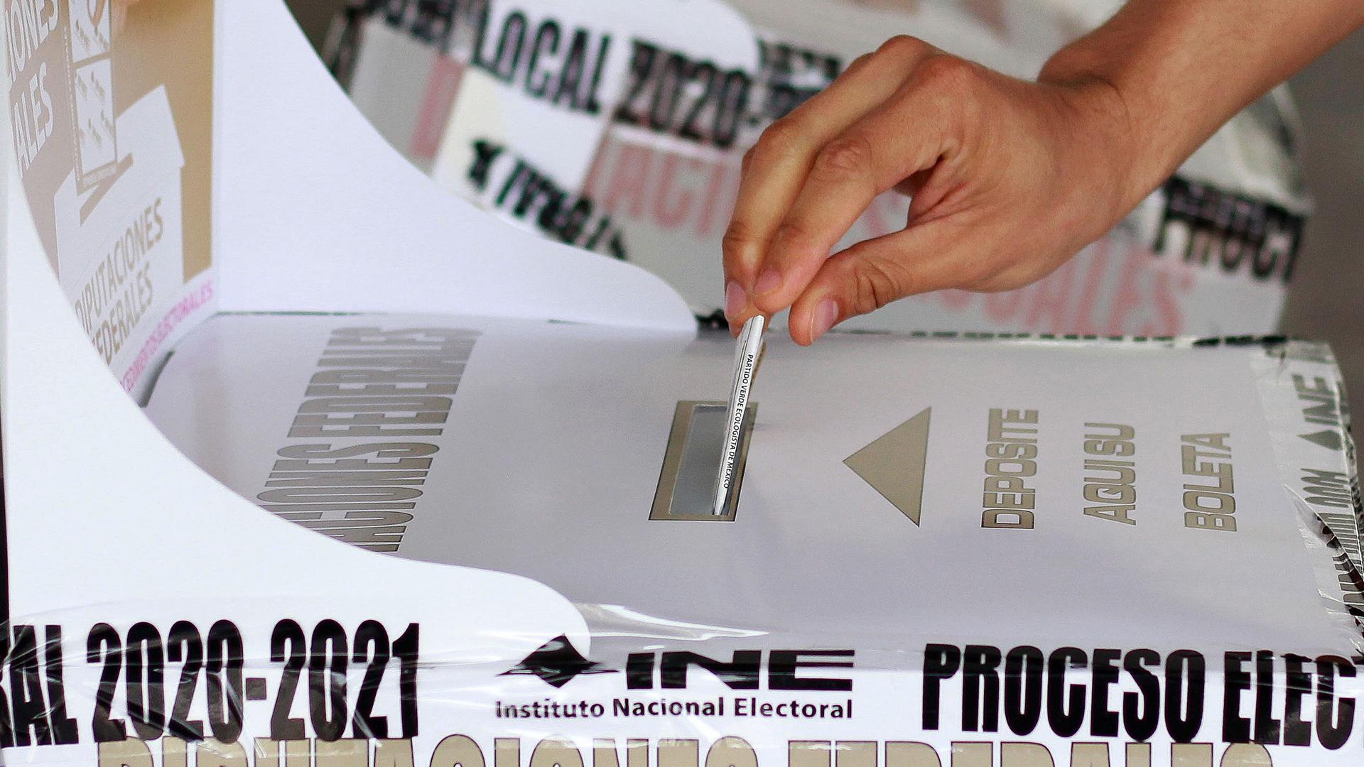 registro partidos elecciones 2021 México INE