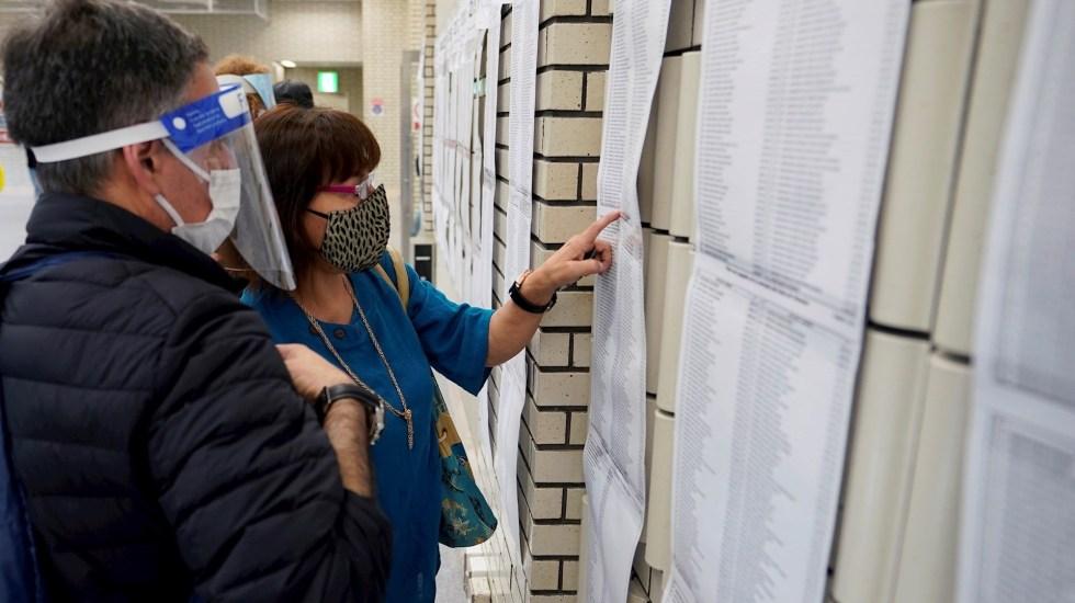 Empieza la jornada electoral para elegir al próximo presidente de Perú - Foto de EFE/EPA/FRANCK ROBICHON.