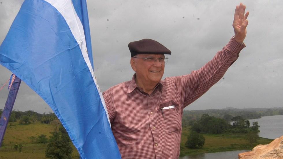 Murió Enrique Bolaños Geyer, expresidente de Nicaragua - Enrique Bolaños Geyer. Foto de @BibliotecaEB