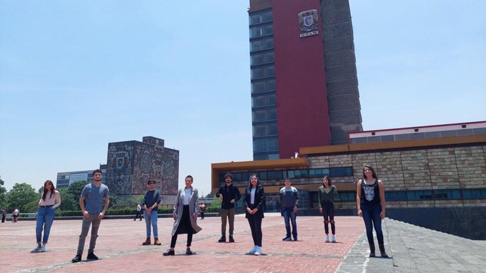 Alumnos mexicanos ganan viaje científico a Alemania - Equipo Teomiztli de alumnos mexicanos. Foto de ENP 2