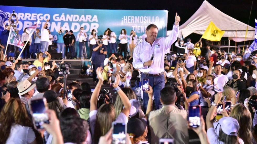 Buscamos transformación hecha por sonorenses, no de la 4T: Gándara - Ernesto Gándara Sonora Va por Sonora