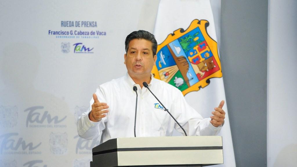 Cabeza de Vaca llama al Gobierno Federal a unir esfuerzos contra criminales - Francisco García Cabeza de Vaca. Foto de @fgcabezadevaca