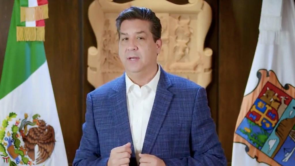 Gobernador García Cabeza de Vaca obtiene suspensión definitiva contra orden de aprehensión - Francisco García Cabeza de Vaca, gobernador de Tamaulipas. Foto tomada de video