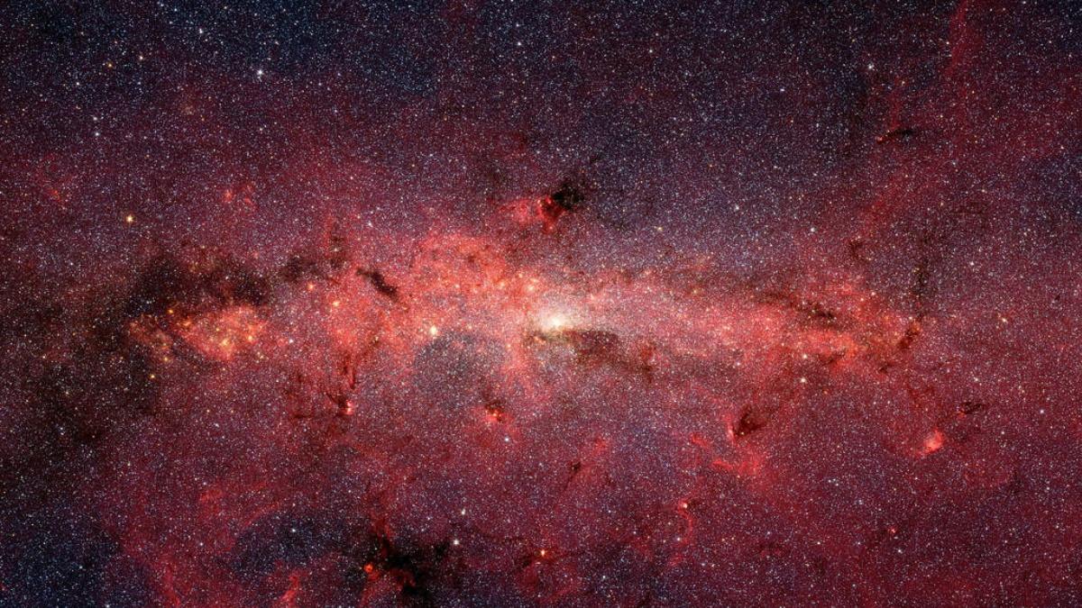 Galaxia vía lactea supercomputadora NASA