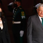 """Finaliza reunión bilateral entre AMLO y Kamala Harris; """"fue un encuentro muy exitoso"""", afirma Ebrard"""