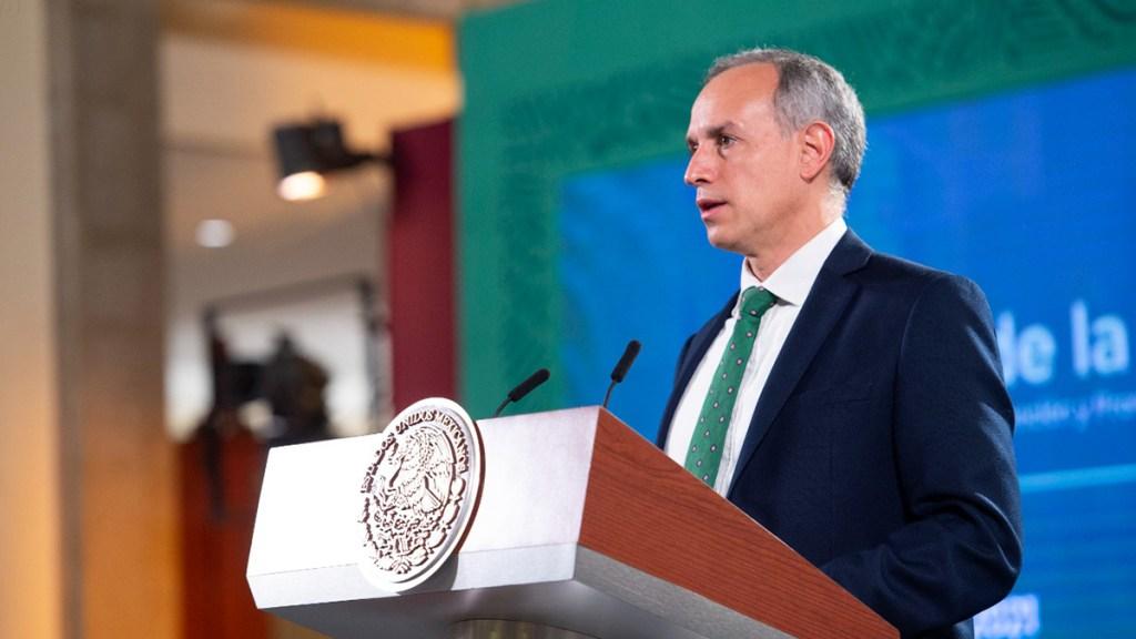 #Video Preocupación por desabasto de medicamentos oncológicos es 'legítima': López-Gatell - Hugo López-Gatell en conferencia de prensa matutina. Foto de Gobierno de México