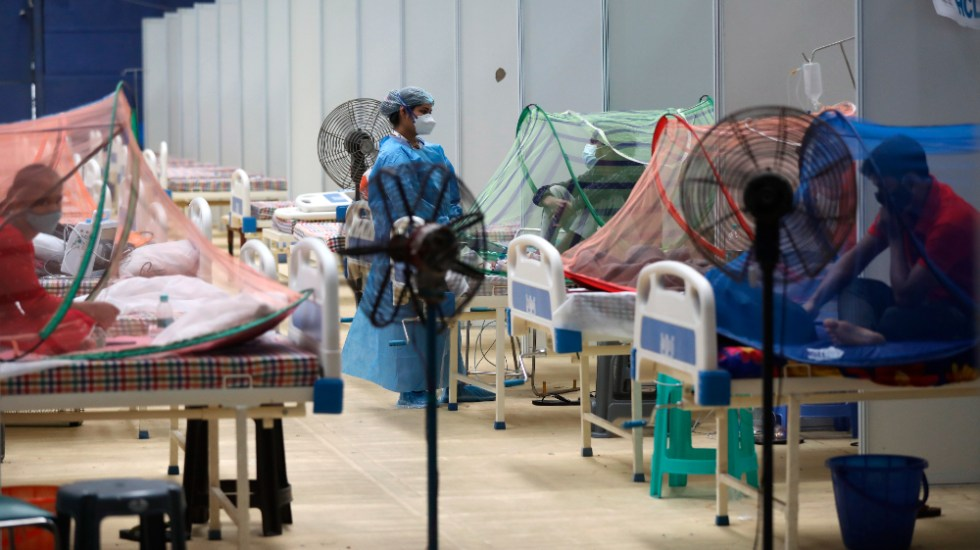 Contagios globales de COVID-19 al alza por segunda semana consecutiva - India coronavirus COVID
