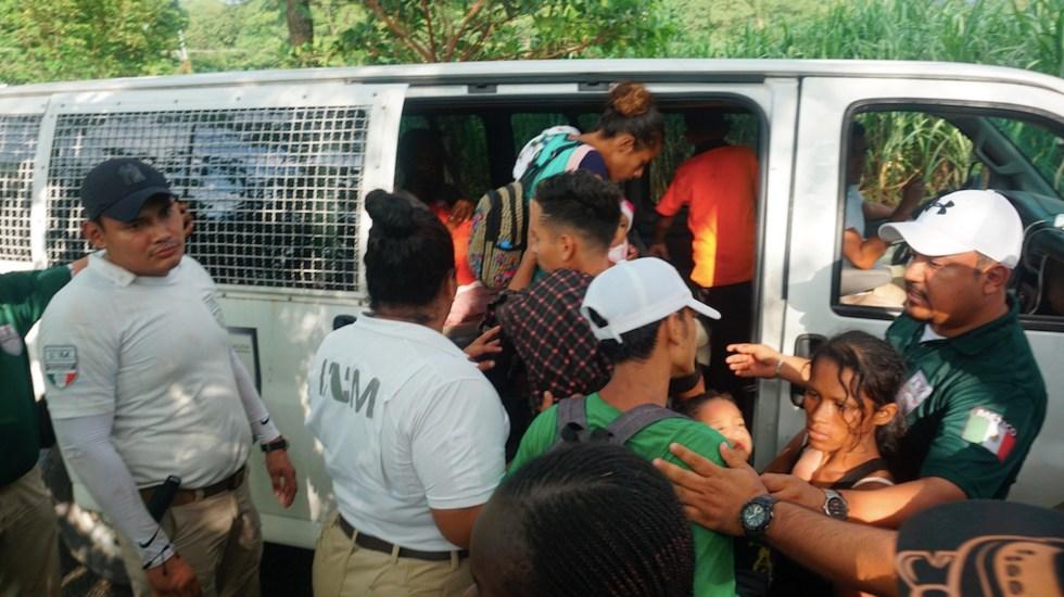 INM rescata a 194 migrantes en Chiapas - INM rescata a 194 migrantes en Chiapas. Foto de EFE